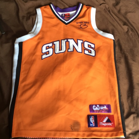 new product 5548f 55126 RARE Suns #13 Steve Nash youth jersey